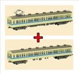 Nゲージ(1/150) 鉄道コレクション 第7弾 一畑電車 デハ80形+クハ180形 セット
