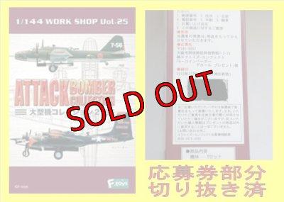 画像4: エフトイズ 1/144戦闘機 大型機コレクション2 01.四式重爆撃機 飛龍 S.飛行第14戦隊 第1中隊 特殊航続距離延長機 シークレット