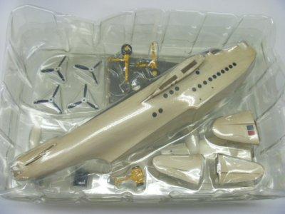 画像5: アルジャーノンプロダクト(カフェレオ) 1/144戦闘機 ビッグバード BIG BIRD 第5弾 下巻 [APS]S.25 SUNDERLAND Mk.III ML778 442飛行隊 着陸用脚:黄 / 後部台車:(ウェザリングver.)