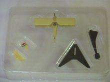 他の写真1: エフトイズ 1/144戦闘機 複葉機コレクション 03s.スパッドS.7 イタリア陸軍航空隊 フランチェスコバラッカ少佐機 外箱・解説書なし