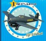 エフトイズ 1/144戦闘機 ブルーエンジェルス 1 F6F-5 ヘルキャット
