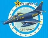 エフトイズ 1/144戦闘機 ブルーエンジェルス 3 A-4 スカイホーク
