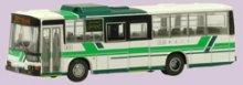 他の写真2: Nゲージ(1/150) ザ・バスコレクション 13弾 三菱ふそうMP218K 道北バス 箱無し