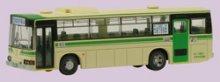 他の写真2: Nゲージ(1/150) ザ・バスコレクション 13弾 三菱ふそうMP618K 大阪市交通局 箱無し