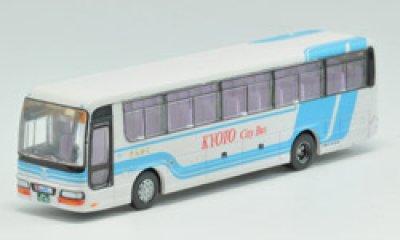 画像1: Nゲージ(1/150) ザ・バスコレクション 17弾 いすゞガーラI 京都市交通局