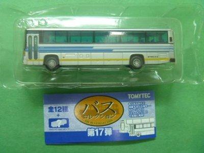 画像2: Nゲージ(1/150) ザ・バスコレクション 17弾 日野ブルーリボン 岩手急行バス
