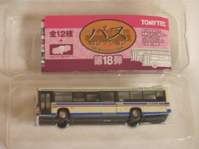 画像2: Nゲージ(1/150) ザ・バスコレクション 18弾 日野レインボーHR 川崎鶴見臨港バス
