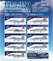 他の写真2: エフトイズ 1/144戦闘機 ユーロジェットコレクション2 1-A MiG-29S フルクラムC ロシア空軍 第4戦技訓練センター