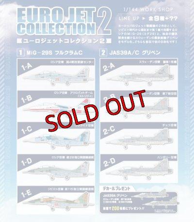 画像2: エフトイズ 1/144戦闘機 ユーロジェットコレクション2 1-A MiG-29S フルクラムC ロシア空軍 第4戦技訓練センター