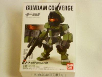 画像2: FW GUNDAM CONVERGE9(ガンダムコンバージ9) 55.GM SNIPER CUSTOM ジムスナイパー