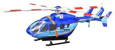 画像1: エフトイズ 1/144戦闘機 ヘリボーンコレクション08 3 BK117-C2 B.千葉県警察ヘリ