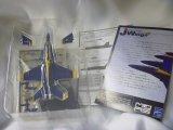 アルジャーノンプロダクト(カフェレオ) 1/144戦闘機 Jウイング Jwings4 51(B)16.F/A-18E BLUE ANGELS No.7 ブルーエンジェル シークレット