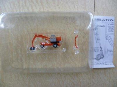 画像1: Nゲージ(1/150) 建設機械コレクション Vol.2 油谷ショベル TY45 オレンジ