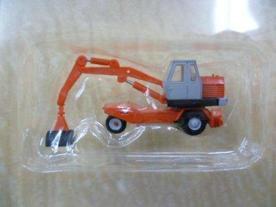 画像2: Nゲージ(1/150) 建設機械コレクション Vol.2 油谷ショベル TY45 オレンジ