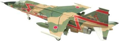 画像1: エフトイズ 1/144戦闘機 特別塗装機コレクション 3 F-1 A.第3航空団 第3飛行隊 ラストフライト特別塗装機