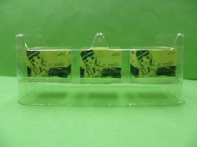 画像1: Nゲージ(1/150) 鉄道むすめ コンテナコレクション 3弾 三和警備保障/駅構内警備員『中野みわ』12フィートHQ冷蔵コンテナ(3個)