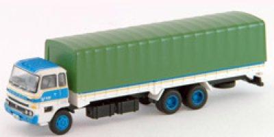 画像1: Nゲージ(1/150) トラックコレクション 7弾 いすゞニューパワー 一般営業用 幌付き平荷台