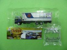 他の写真1: Nゲージ(1/150) トラックコレクション 7弾 いすゞギガ 福岡運輸 31ft冷凍コンテナ