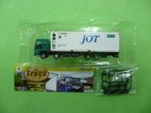 他の写真1: Nゲージ(1/150) トラックコレクション 7弾 いすゞギガ 日本石油輸送 31ft冷凍コンテナ