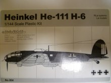 他の写真1: アルジャーノンプロダクト(カフェレオ) 1/144戦闘機 Heinkel He-111H-6 No.004 1/144スケール プラスチックキット 限定品
