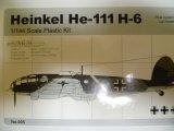 アルジャーノンプロダクト(カフェレオ) 1/144戦闘機 Heinkel He-111H-6 No.005 1/144スケール プラスチックキット 限定品