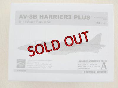 画像1: アルジャーノンプロダクト(カフェレオ) 1/144戦闘機 WFワンフェス2009 夏限定 AV-8B HARRIER2 PLUS タイプA 2機セット