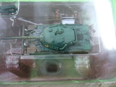 画像2: タカラトミー 1/144  ワールドタンクミュージアム 大戦略エディション 74式戦車(ドーザー付) 単色迷彩 外箱無し