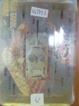 タカラトミー 1/144  ワールドタンクミュージアム01 M4A1/76シャーマン(冬迷彩) 箱無し