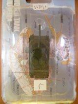 タカラトミー 1/144  ワールドタンクミュージアム01 M4A1/76シャーマン(単色) 箱無し