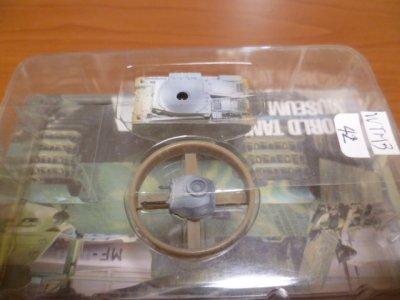 画像1: タカラトミー 1/144  ワールドタンクミュージアム03 II号戦車F型(冬季) 箱無し