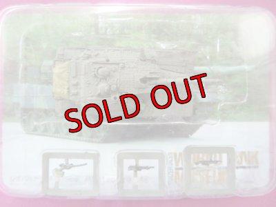 画像2: タカラトミー 1/144  ワールドタンクミュージアム06 115.メルカバ Mk.III(バズ)・ライトグリーン迷彩 外箱無し