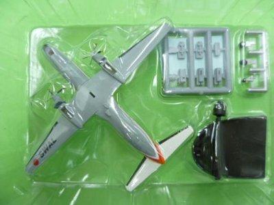 画像2: エフトイズ 1/300戦闘機 YS-11列伝 8.南西航空 解説書なし