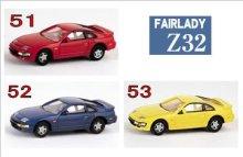 他の写真1: Nゲージ(1/150) カーコレクション NISSAN FAIRLADY Z フェアレディーZヒストリー Z32 レッド・ブルー・イエロー (51・52・53)