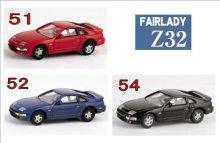 他の写真1: Nゲージ(1/150) カーコレクション NISSAN FAIRLADY Z フェアレディーZヒストリー Z32 レッド・ブルー・黒 (51・52・54)