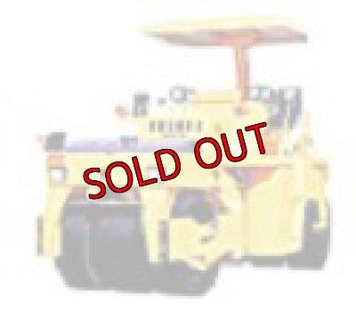 画像2: Nゲージ(1/150) Nジオコレ 特殊車両 酒井重工 GW750 振動タイヤローラ 黄(標準色) 外箱なし