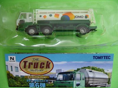 画像1: Nゲージ(1/150) トラックコレクション 6弾 JOMO 日産ディーゼルC800 タンクローリー