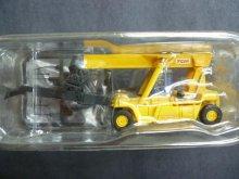 他の写真1: Nゲージ(1/150) ザ・建機 第3弾 45t リーチスタッカー MR450 TCM株式会社(黄色)